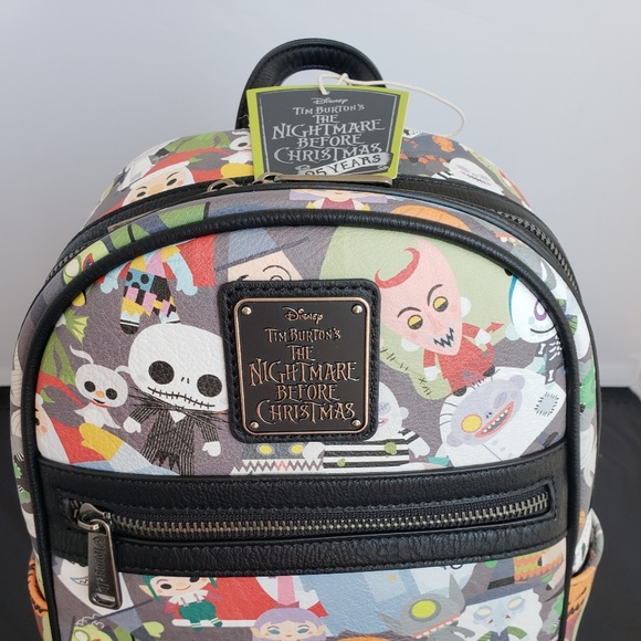 7e7516ac8fc Nightmare Before Christmas Chibi Mini Backpack